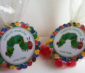 Very Hungry Caterpillar Party Favor Bags
